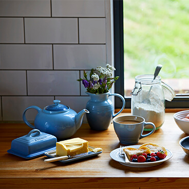 Le Creuset Mugs and Teapot