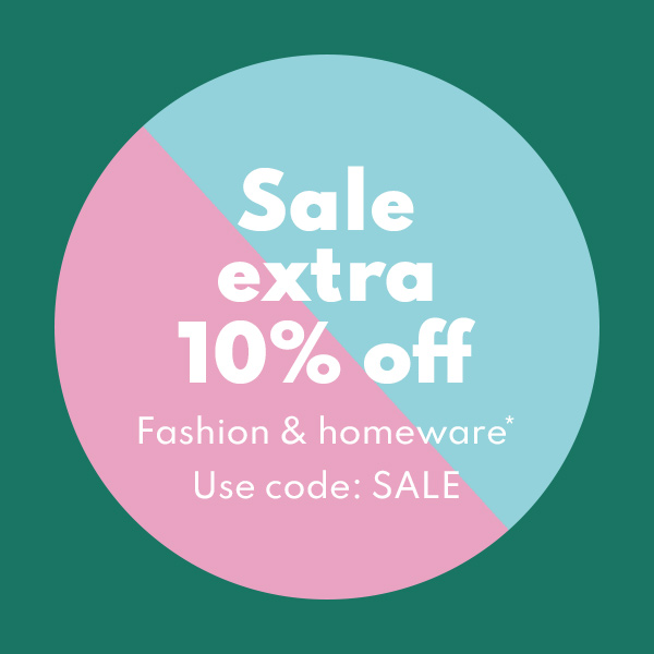 Extra 10% off selected sale