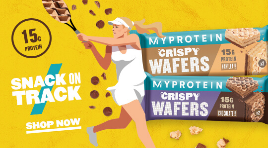 Snack on Track! Protein Wafers