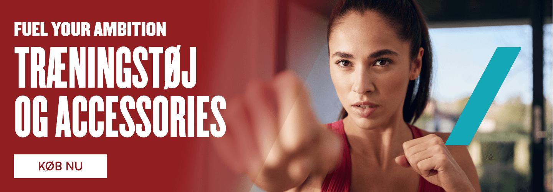 Fuel your ambition med det rette træningstøj.