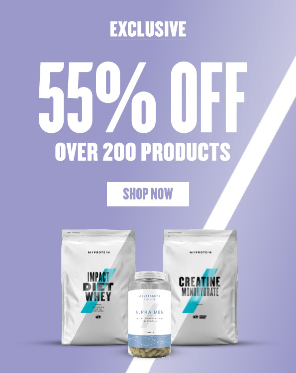 55% Off Over 200 Products