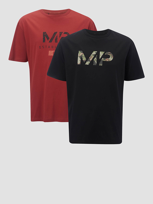 2-Pack T-Shirts Hommes