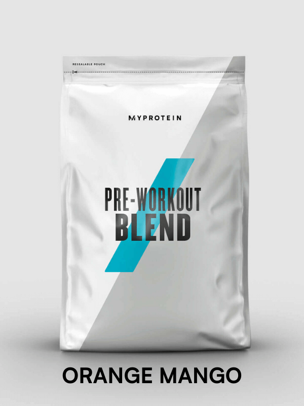 pre workout blend - get the best out of every workout