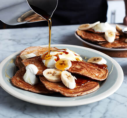 Protein-Packed Banoffee Pancakes