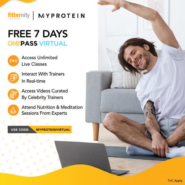 Fitternity Myprotein offer