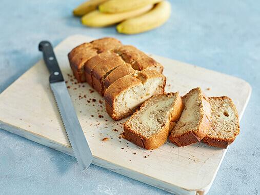 <b>Pane alla banana proteico farcito con cheesecake</b>