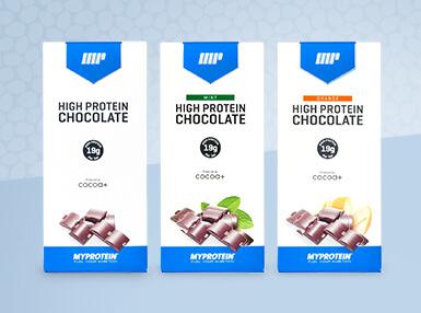 Шоколад с большим содержанием протеина