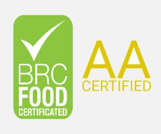 Známka kvality AA za Bezpečnosť Potravín