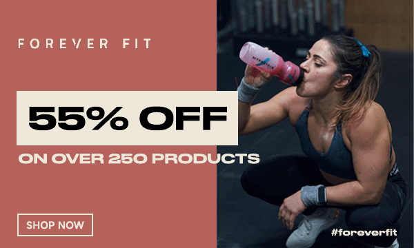 55% OFF over 250 products! No code required!