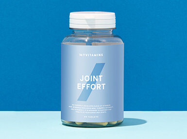 a bottle of vitamins for joints