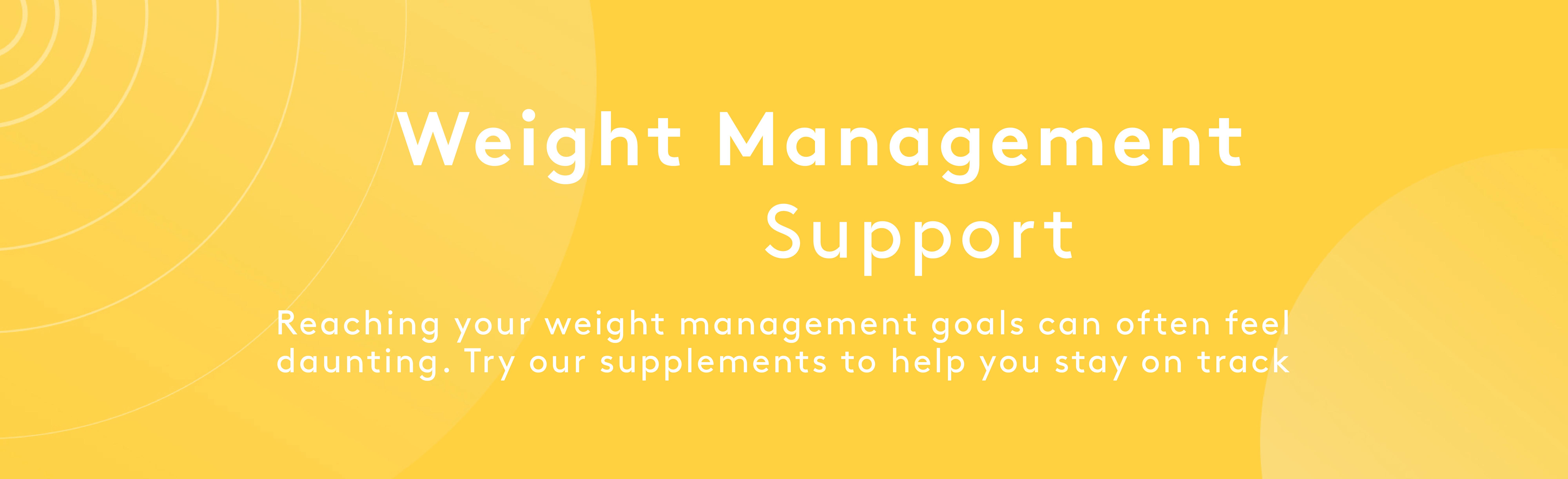 Weight Management | Myvitamins