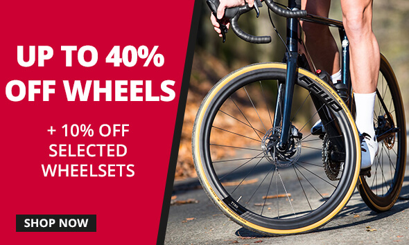 WHEELSETS - Fulcrum, FFWD, Campagnolo and many more from $95.99, shop now