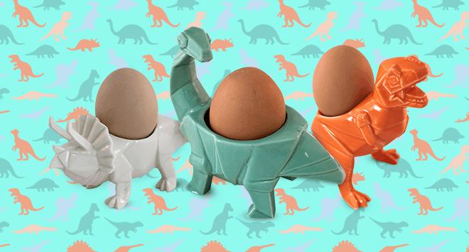 Dinosaur Egg Cups