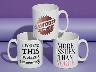 2 for £10 Mugs