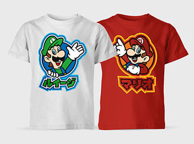 Nintendo Kids T-Shirts - 2 for 1