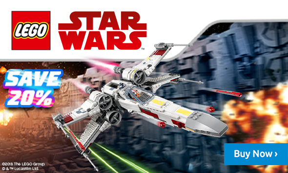 Save 20% on Lego Star Wars