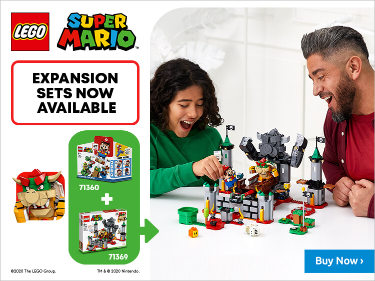 LEGO x Super Mario Go Live