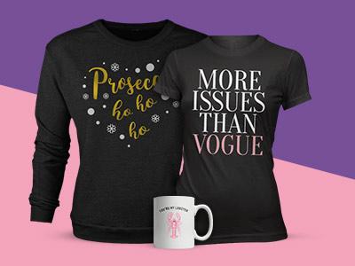 Prosecco Sweatshirt, T-Shirt & Mug Only £22.99