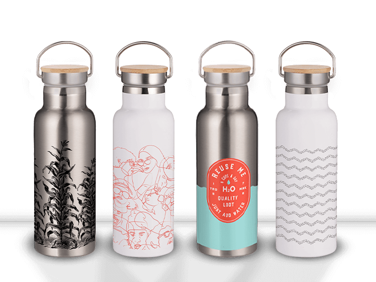 Bamboo Insulated Bottles