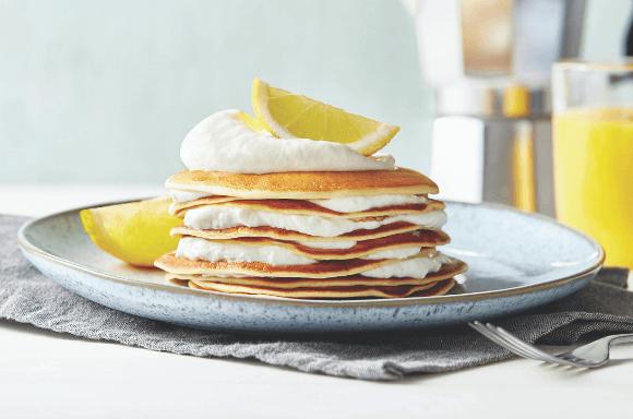 Zitronen Pancakes