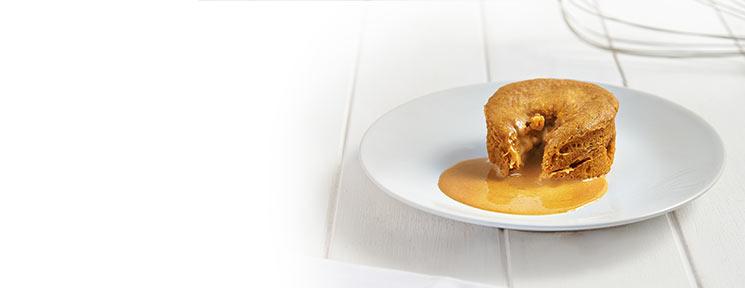 Meal Replacement Gooey Salted Caramel Dessert