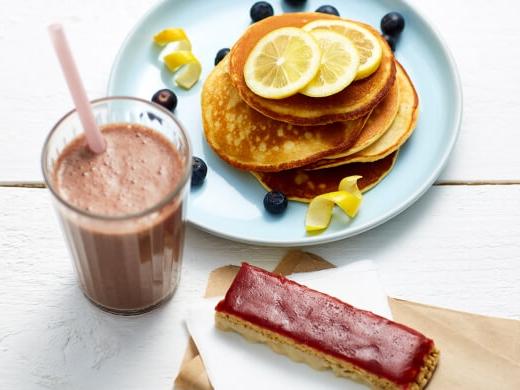 Exante Shake, Bar and Pancake