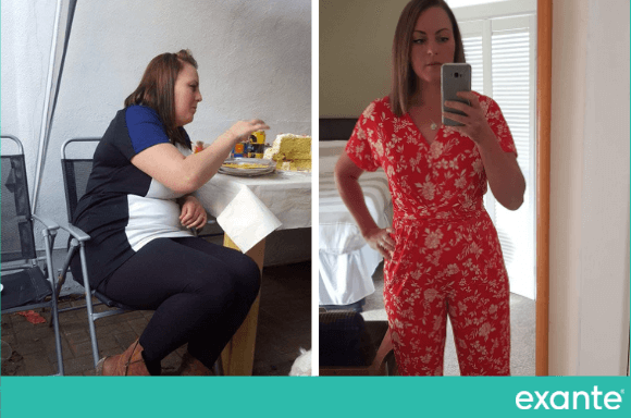 Lucy Hyde lost 6st 2lbs