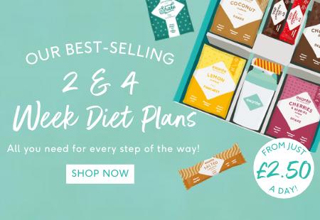 Try our best selling 2 & 4 week diet plans