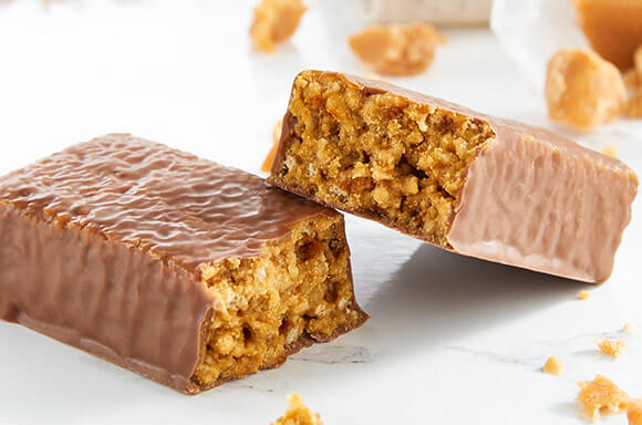 Chocolate Caramel Crunch Bar