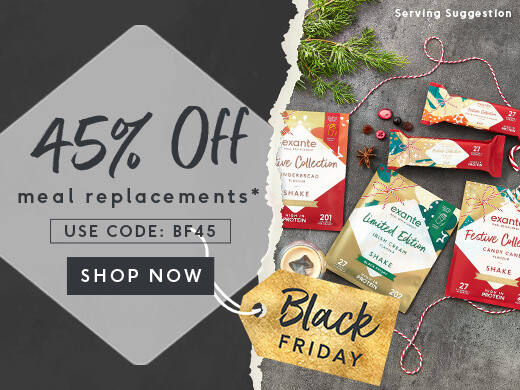 45% OFF MEAL REPLACEMENTS