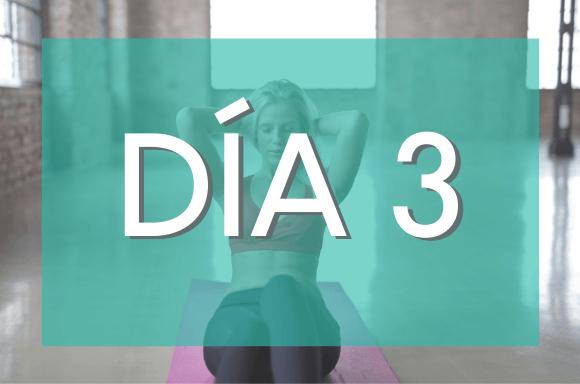 Día 3 (Semanas 5 y 6) del Plan de Entrenamiento Exante