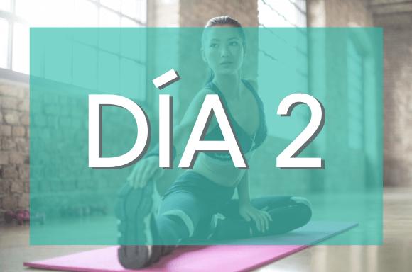Día 2 (Semanas 5 y 6) del Plan de Entrenamiento Exante