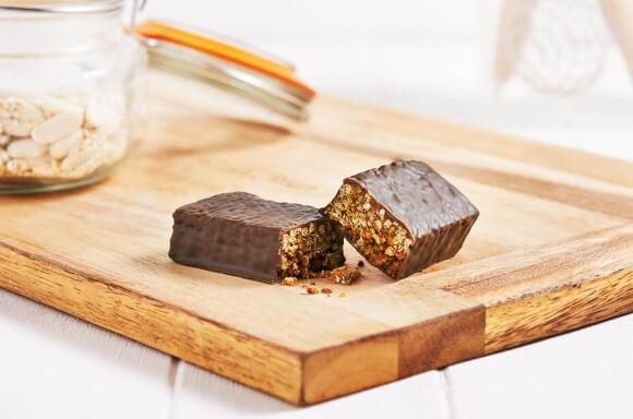 Barrita Crujiente de Chocolate y Caramelo Dieta Exante