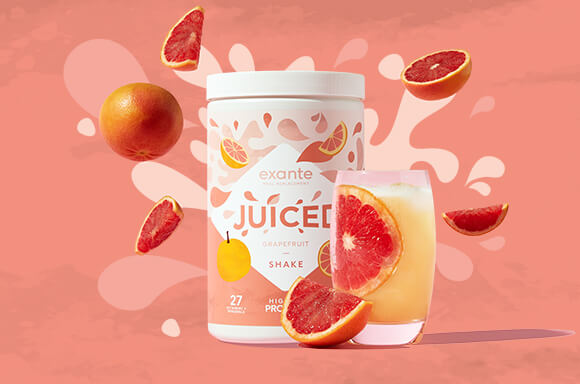 exanet JUICED sabor Pomelo