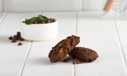 Biscotto menta e cioccolato