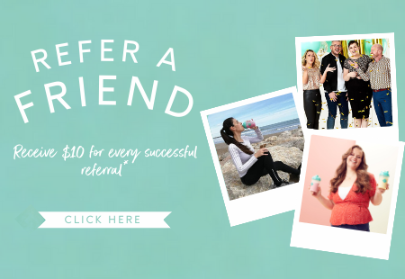 Refer a friend and receive $10 for every successful referral. Click here to log in to your referrals account