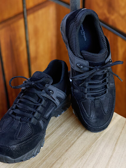 A pair of mens Shoes