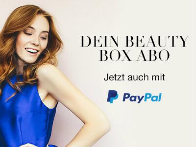 Beauty Box mit Paypal!