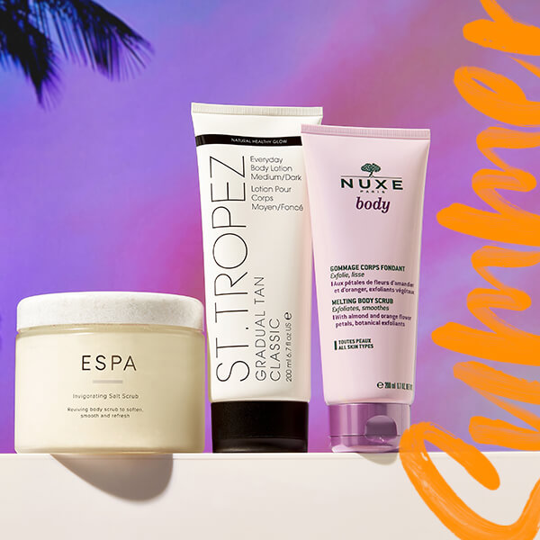 Keep your body healthy, happy, and hydrated with the ultimate summer bodycare range at lookfantastic.