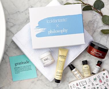 LOOKFANTASTIC X PHILOSOPHY自然哲理 联名限定美妆礼盒