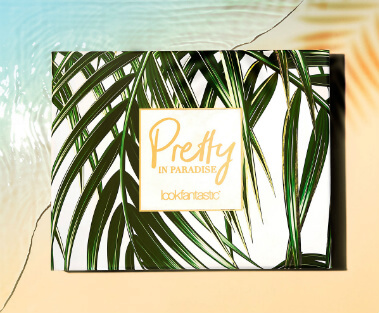 Juli lookfantastic Beauty Box #Pretty in Paradise