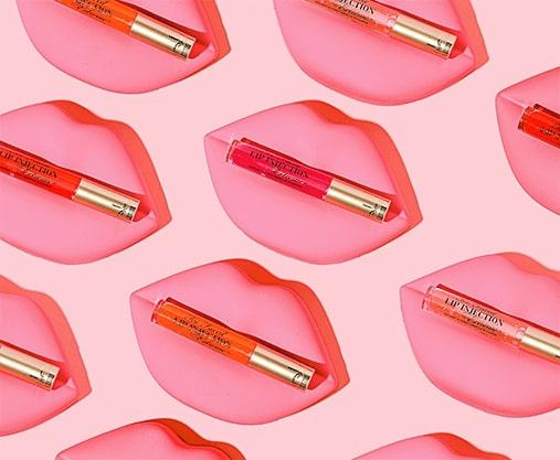 Too Faced lip gloss & lipstick