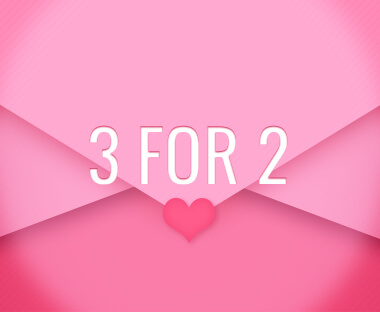 Up to 3 for 2