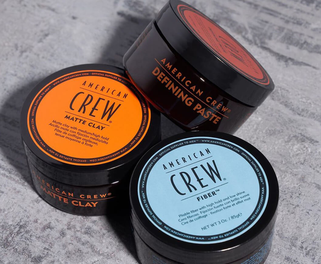 Thicken and add fullness to your hair with American Crew.