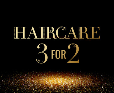 Haircare  3 for 2