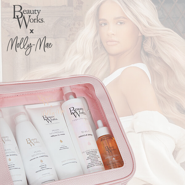 Beauty Works x Molly Mae Haircare Gift Set woth £80