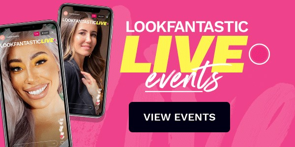 lookfantastic live events. view events