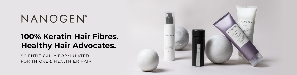 Nanogen haircare, the homepage
