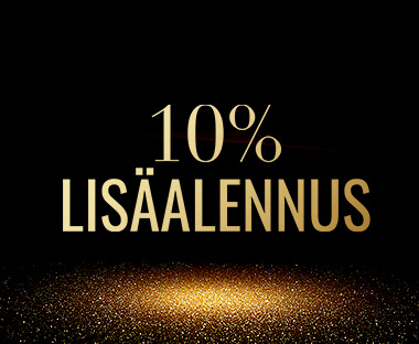 10% Lisäalennus