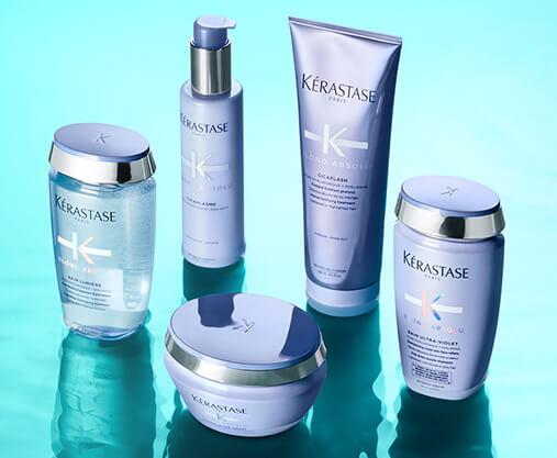 Prenez soin de vos cheveux avec Kérastase, une marque qui offre des produits de luxe et des soins capillaires pour tous les types de cheveux.